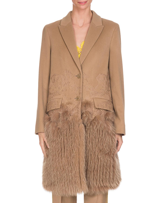 Camel Womens Coat Neiman Marcus