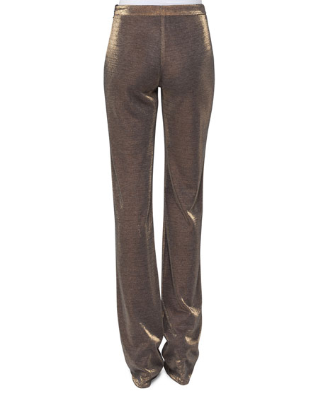 Mabel Lurex Jersey Pants