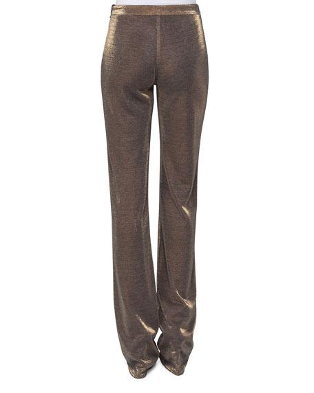 Mabel Lurex Jersey Pants