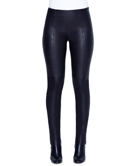 Fria Napa Leather Skinny Pants