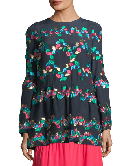 Peter Pilotto Fil Coupe Babydoll Tunic