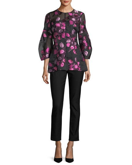 Tulip Fil Coupe Full-Sleeve Top
