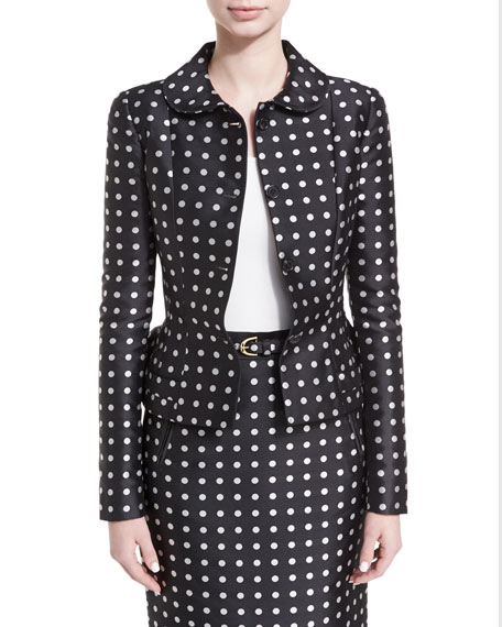 Carolyn Polka-Dot Jacket