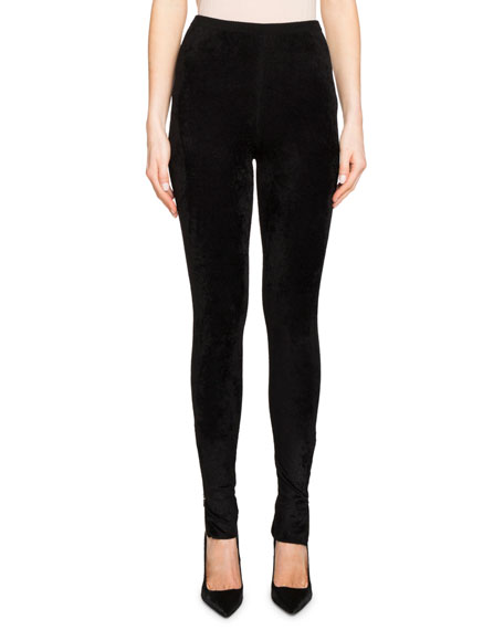 Rowley High-Waist Knit Leggings