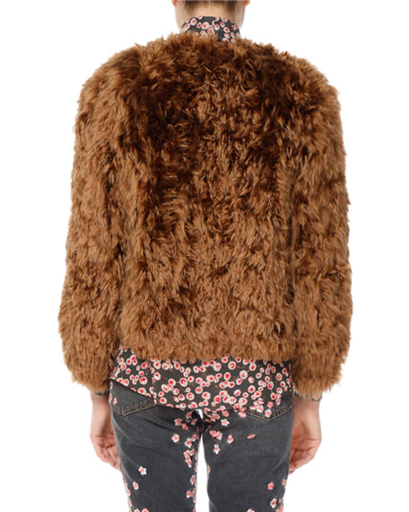 Alpaca Fur Coat