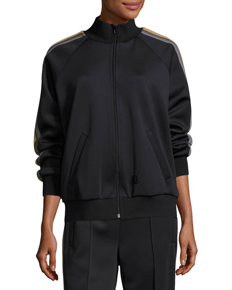 Side-Stripe Track Jacket