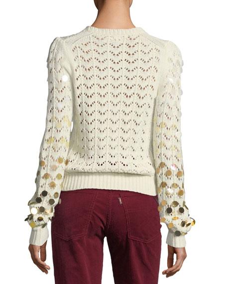 Dégradé Paillette Sweater