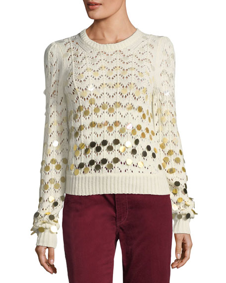 Marc Jacobs Dégradé Paillette Sweater