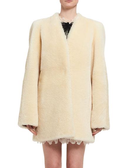 Teddy Bear Shearling Fur Coat