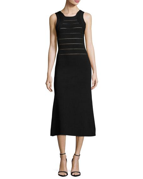 Sleeveless Knit Midi Dress