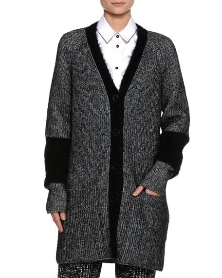 Piazza Sempione Mohair-Blend Cardigan Coat and Matching Items