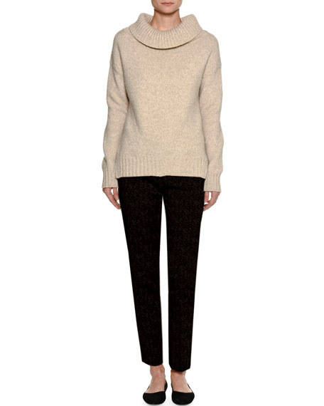 Kim Virgin Wool Slim Ankle Pants