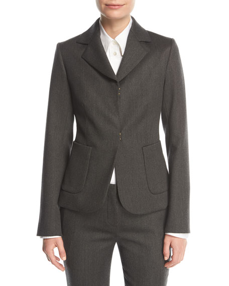 Meylan Hook-Front Jacket