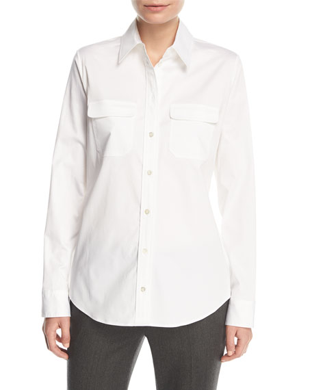 Patrew Patch-Pocket Shirt