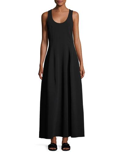 Bond Sleeveless Scoop-Neck Maxi Dress