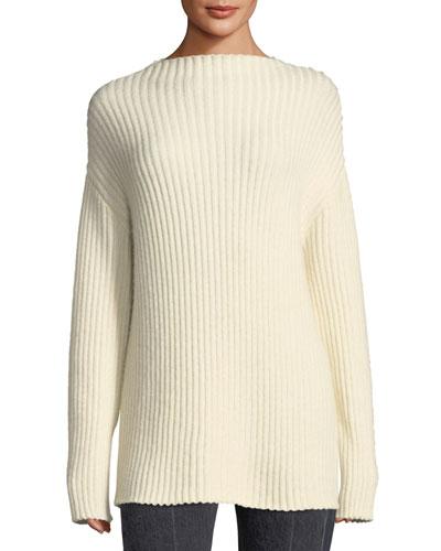 Minah Ribbed Knit Sweater