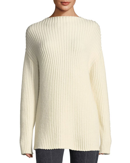 Minah Ribbed Knit Sweater