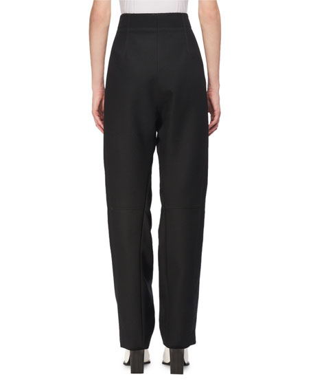Fantine Wool High-Waist Trousers