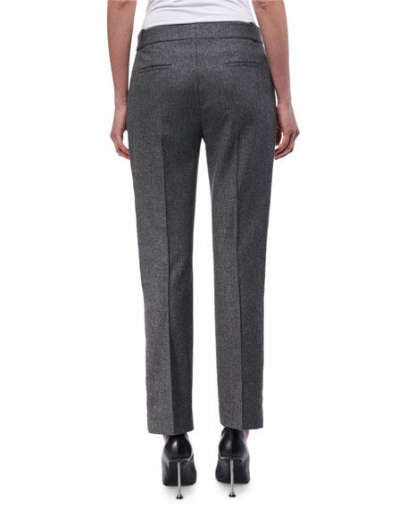 Paneled Wool-Cashmere Pants