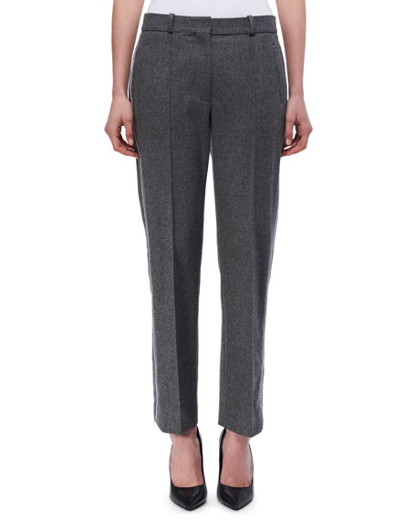 Victoria Victoria Beckham Paneled Wool-Cashmere Pants and