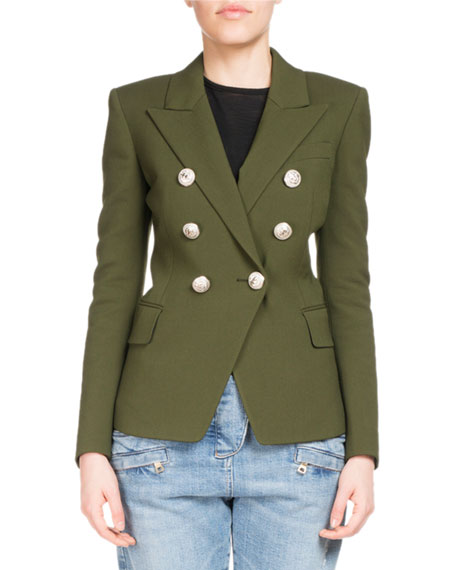 Balmain Classic Double-Breasted Blazer