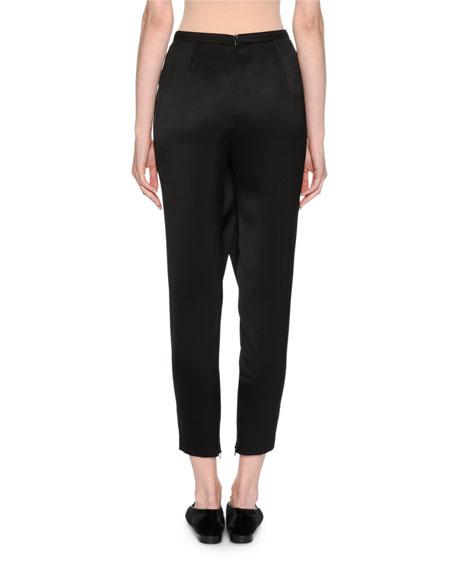 Silk Satin Harem Pants