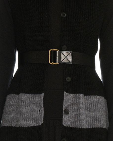 Tomas Maier Nylon D-Ring Belt