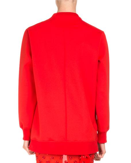 Bambi® Long Crewneck Sweatshirt, Red