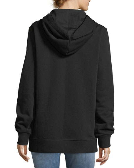 Bambi® Long Crewneck Sweatshirt, Black/White
