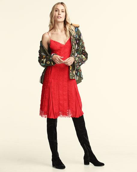 Chantilly Lace Slip Dress