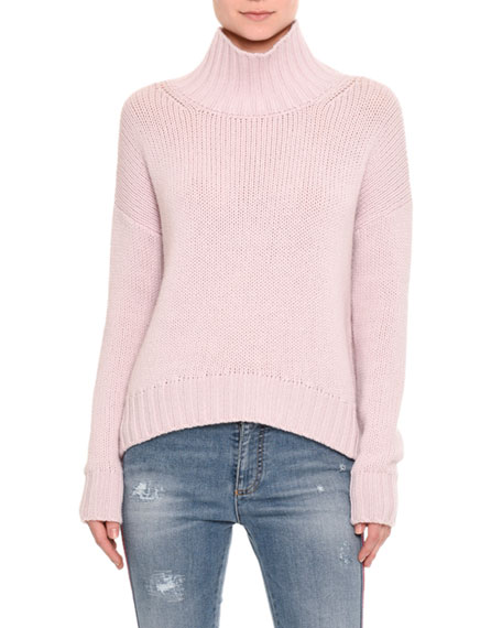 Ermanno Scervino Cashmere Turtleneck Sweater