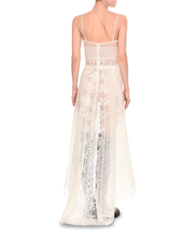 asymmetric floral dress - White Ermanno Scervino Discount Collections eKP7fXu