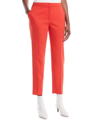 Tamesne Straight-Leg Ankle Pants