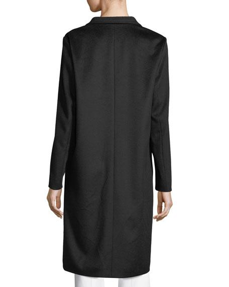 Virgin Wool Car Coat