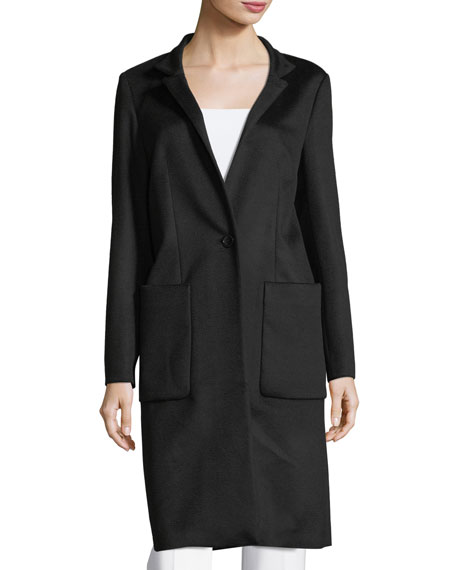 Virgin Wool Car Coat