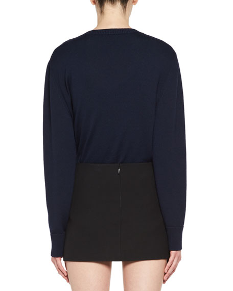 LouLou Wool Crewneck Sweater