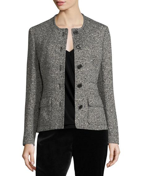 Tweed Safari Jacket