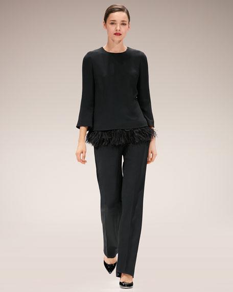 Tirisa Mid-Rise Wide-Leg Pants