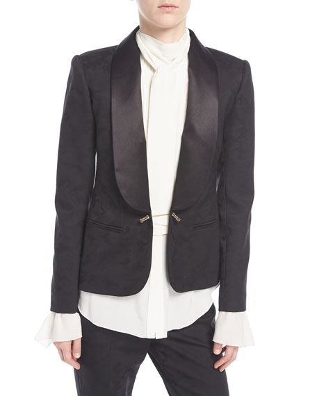 Redemption Satin-Trim Tuxedo Jacket and Matching Items