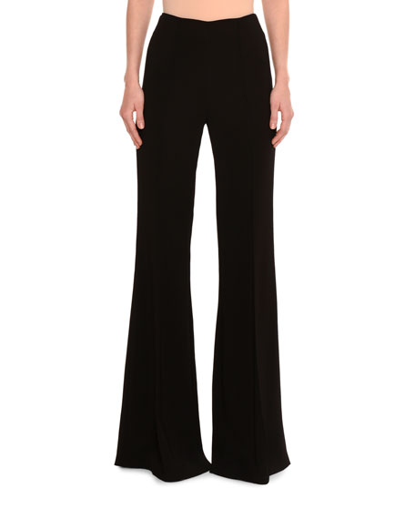 Emilio Pucci Crepe Flare-Leg Pants and Matching Items