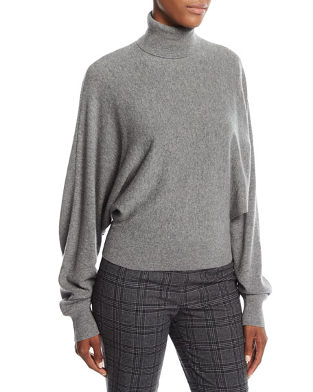 Michael Kors Collection Cashmere Dolman-Sleeve Turtleneck Sweater
