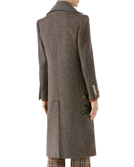 Vintage Coat w appliques det