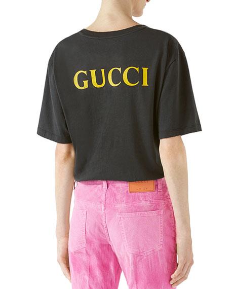 AC/DC Print Cotton T-Shirt