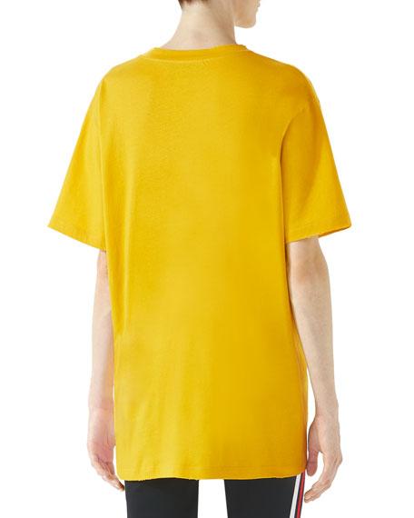 Gucci Coco Capit&#225n Print Cotton T-Shirt
