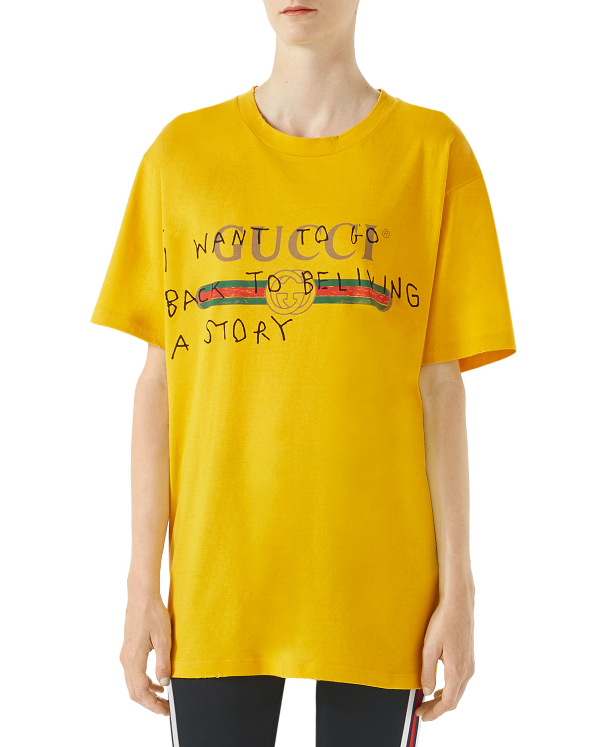 4322d617d225 Womens Replica Gucci T Shirt