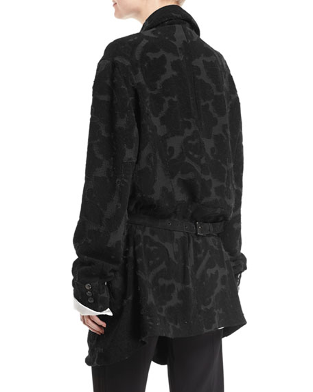Eroded Tapestry Smoking Jacket