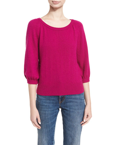 Co Raglan Cashmere Sweater