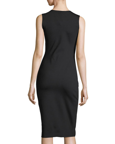 Devi Sleeveless Sheath Dress