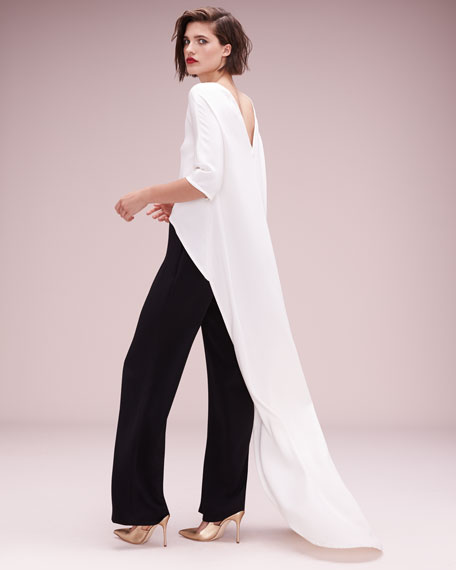High-Low Cape Top