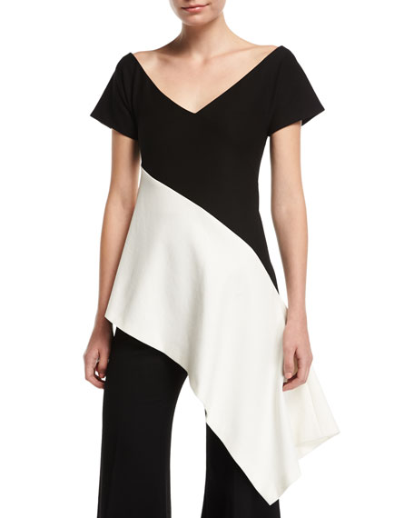 Rosetta Getty Paneled Asymmetric Top and Matching Items